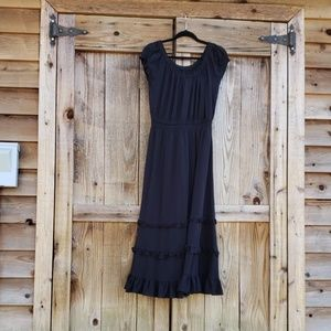 Coldwater Creek Dresses - Coldwater Creek Maxi Black Dress